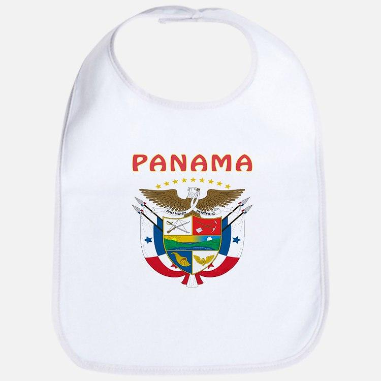 Panama Coat of arms Bib