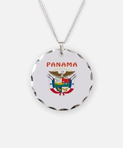 Panama Coat of arms Necklace