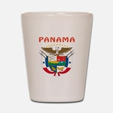 Panama Coat of arms Shot Glass