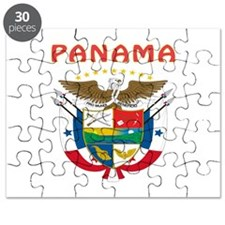 Panama Coat of arms Puzzle