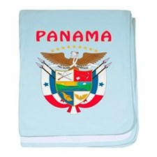 Panama Coat of arms baby blanket