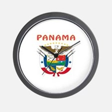 Panama Coat of arms Wall Clock