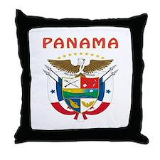 Panama Coat of arms Throw Pillow