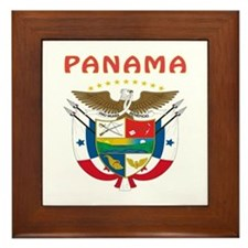 Panama Coat of arms Framed Tile