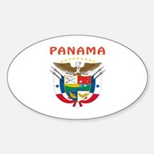 Panama Coat of arms Sticker (Oval)