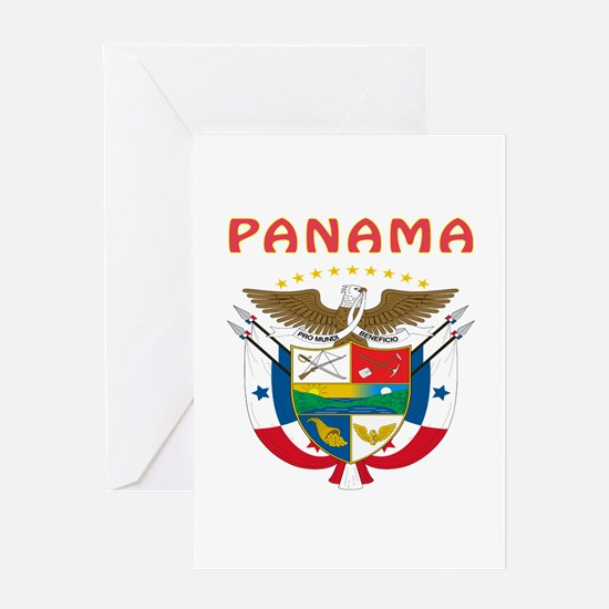 Panama Coat of arms Greeting Card