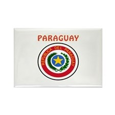 Paraguay Coat of arms Rectangle Magnet