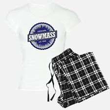 Snowmass Ski Resort Colorado - Blue Pajamas