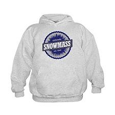 Snowmass Ski Resort Colorado - Blue Hoodie