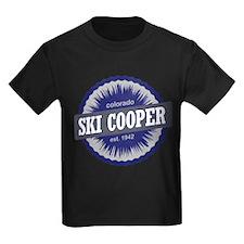 Ski Cooper Ski Resort Colorado - Blue T