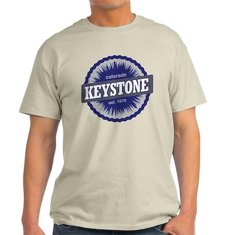 Keystone Ski Resort Colorado - Blue Light T-Shirt