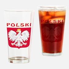 Polski Coat of arms Drinking Glass
