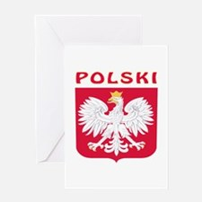 Polski Coat of arms Greeting Card
