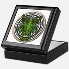 Alder Celtic Greenman Pentacle Keepsake Box