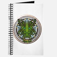 Alder Celtic Greenman Pentacle Journal