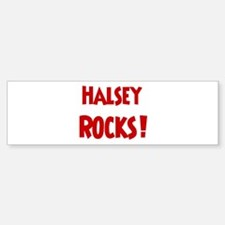 Halsey Rocks Bumper Bumper Bumper Sticker