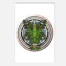 Alder Celtic Greenman Pentacle Postcards (Package