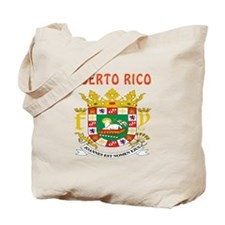 Puerto Rico Coat of arms Tote Bag