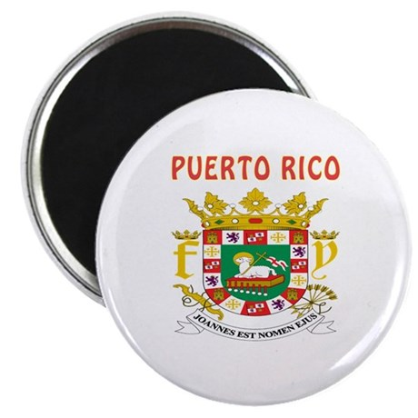 puerto rico coat of arms magnet by tshirts4countries