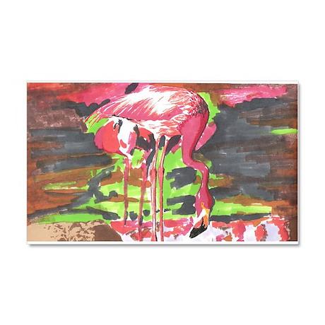 Flamingo Car Magnet 20 x 12