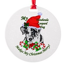 Catahoula Leopard Dog Ornament
