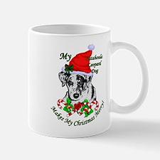 Catahoula Leopard Dog Christmas Mug