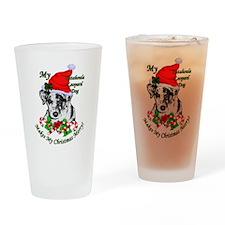 Catahoula Leopard Dog Drinking Glass