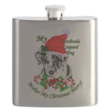 Catahoula Leopard Dog Flask