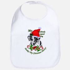 Catahoula Leopard Dog Bib