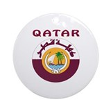 Qatar Round Ornaments