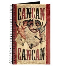 Vintage Cancan Poster Art Journal