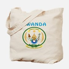 Rwanda Coat of arms Tote Bag