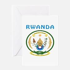 Rwanda Coat of arms Greeting Card