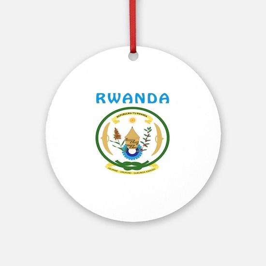 Rwanda Coat of arms Ornament (Round)
