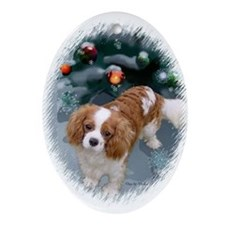 Cavalier King Charles Ornament (Oval)