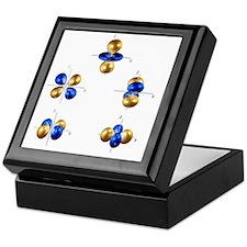 3d electron orbitals - Keepsake Box