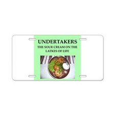 undertaker Aluminum License Plate