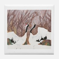 Geese- God's Creatures Tile Coaster