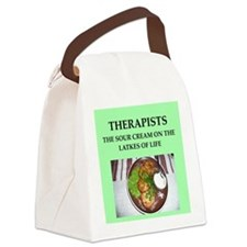therapist Canvas Lunch Bag