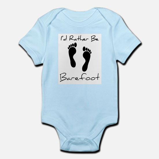 I'd Rather Be Barefoot - Onesie
