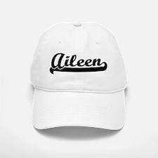 Black jersey: Aileen Baseball Baseball Cap