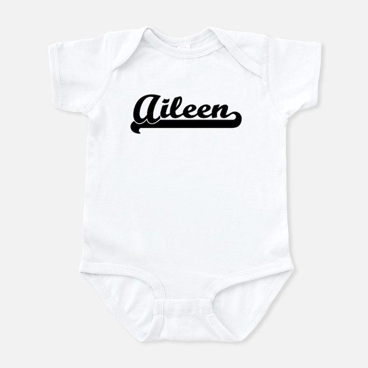 Black jersey: Aileen Infant Bodysuit