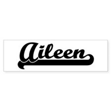 Black jersey: Aileen Bumper Bumper Sticker