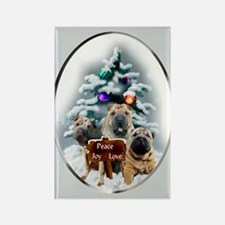 Chinese Shar-Pei Rectangle Magnet (100 pack)
