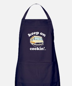 Keep On Cookin Apron (dark)