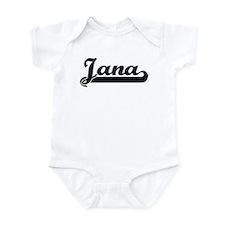 Black jersey: Jana Infant Bodysuit