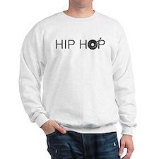 Hip Hop Vinyl Sweatshirt