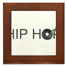 Hip Hop Vinyl Framed Tile