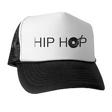 Hip Hop Vinyl Trucker Hat