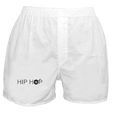 Hip Hop Vinyl Boxer Shorts